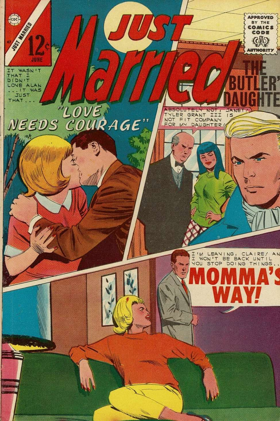 Comic Book Cover For Just Married #47