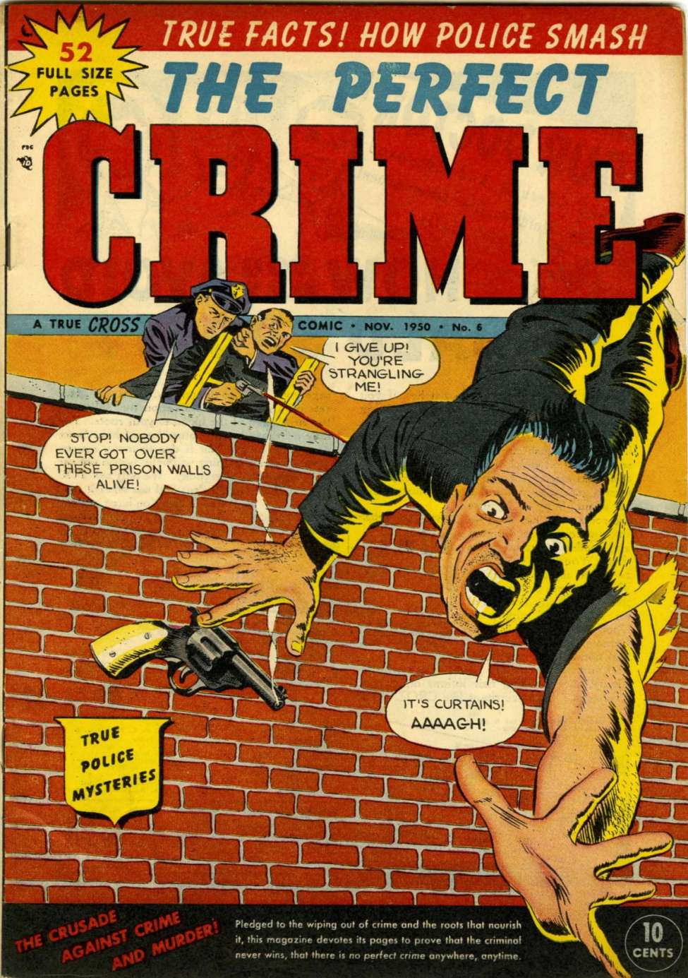 Comic Book Cover For The Perfect Crime #6
