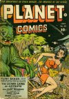 Cover For Planet Comics 25