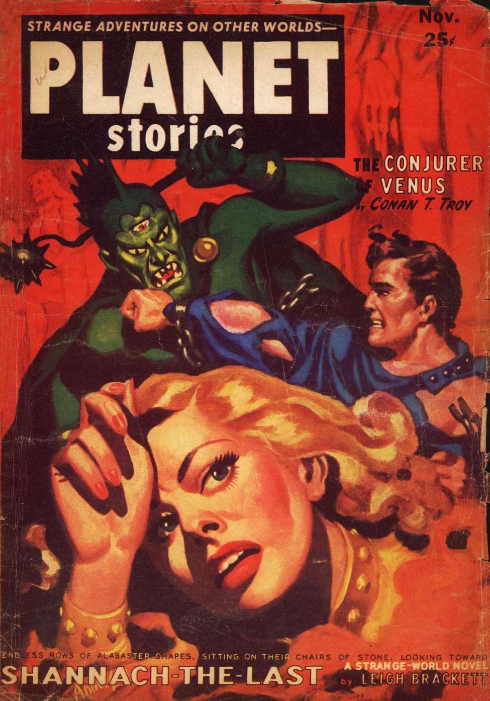 Comic Book Cover For Planet Stories v05 09 - Shannach - The Last - Leigh Brackett
