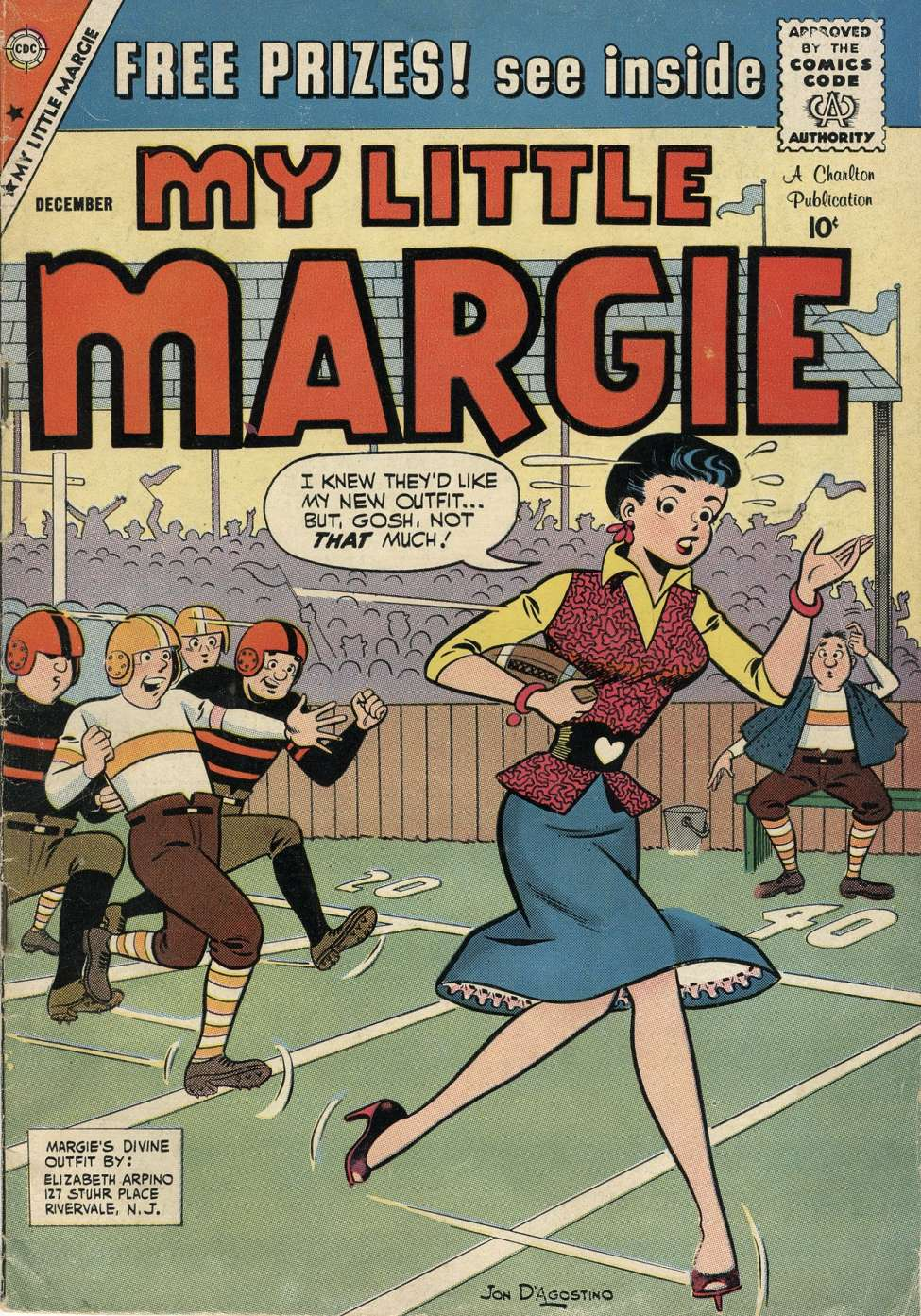 Comic Book Cover For My Little Margie #27