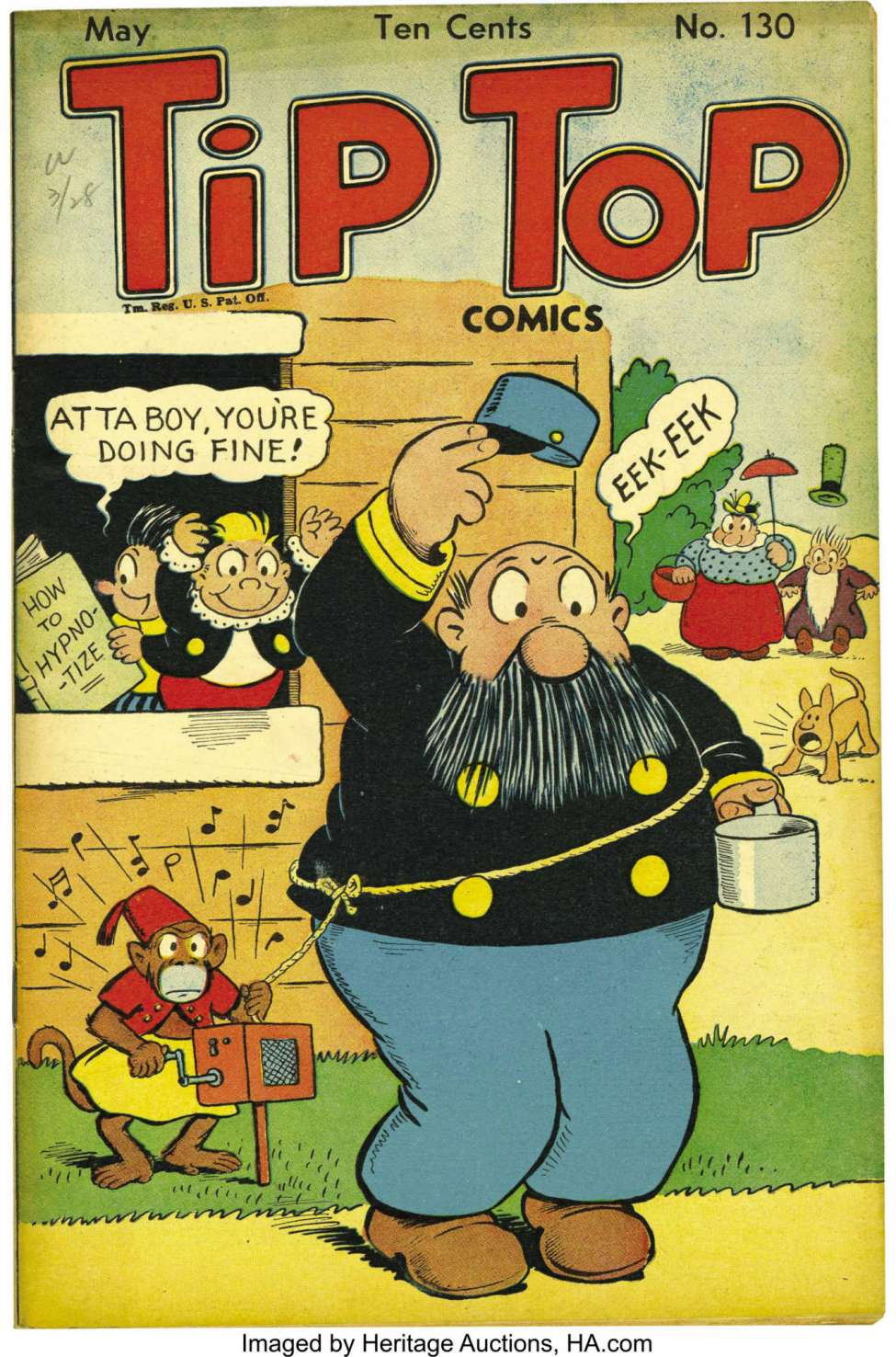 Comic Book Cover For Tip Top Comics 130