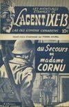 Cover For L'Agent IXE 13 v1 10 Au secours de madame Cornu
