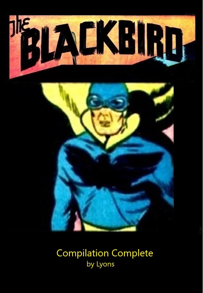Comic Book Cover For The Blackbird