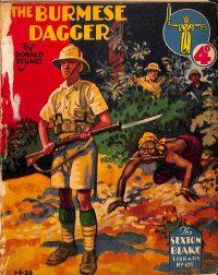 Large Thumbnail For Sexton Blake Library S2 675 - The Burmese Dagger