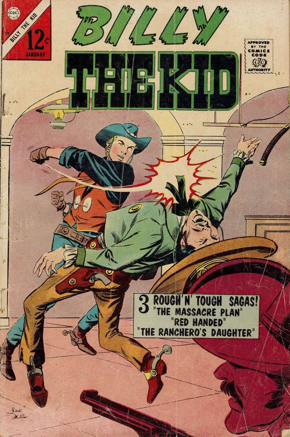 Comic Book Cover For Billy the Kid #59