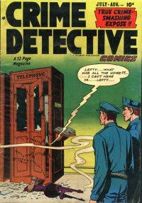 Large Thumbnail For Crime Detective Comics v2 #9