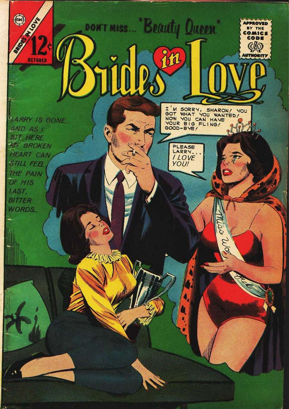 Comic Book Cover For Brides in Love #43