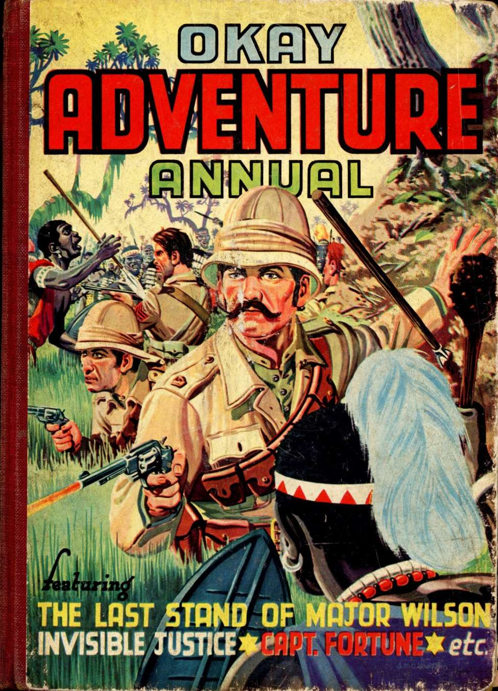 Comic Book Cover For Okay Adventure Annual #3