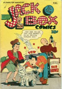 Large Thumbnail For Jack-in-the-Box Comics #14