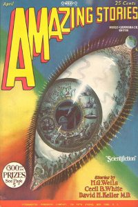 Large Thumbnail For Amazing Stories v03 01 - A Story of the Days to Come - H. G. Wells