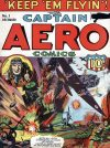 Cover For Captain Aero Comics 1