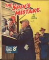 Cover For Sexton Blake Library S3 259 The Spiv's Mistake