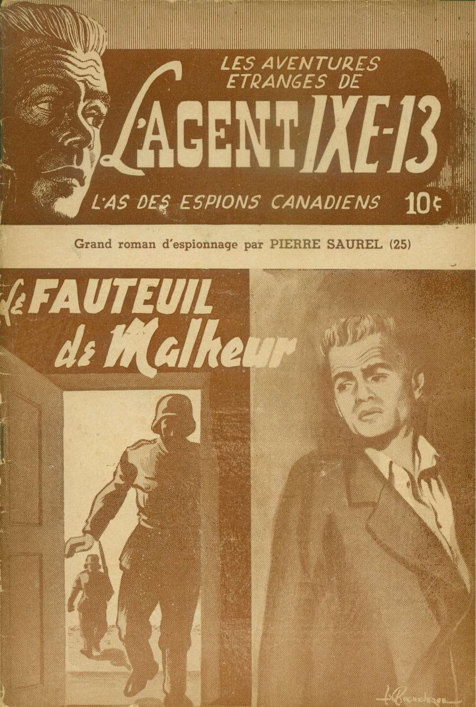 Comic Book Cover For L'Agent IXE-13 v2 025 - Le fauteuil de malheur