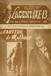 Cover For L'Agent IXE 13 v2 25 Le fauteuil de malheur