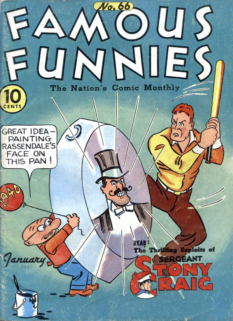 Comic Book Cover For Famous Funnies #66