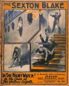 Cover For Sexton Blake Library S1 374 - In the Night Watch