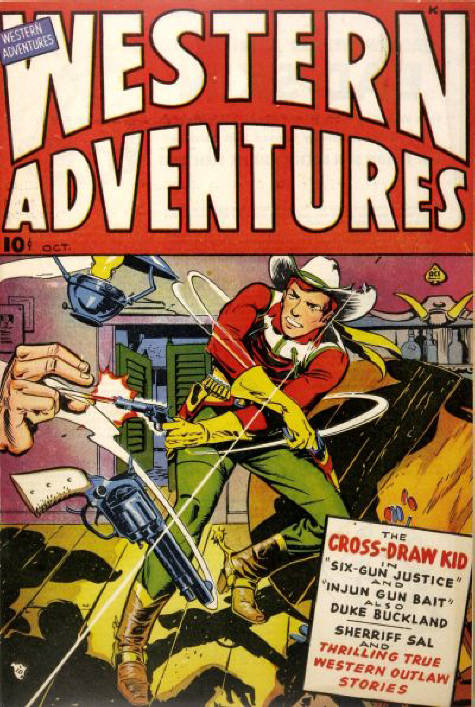 Comic Book Cover For Western Adventures [1]