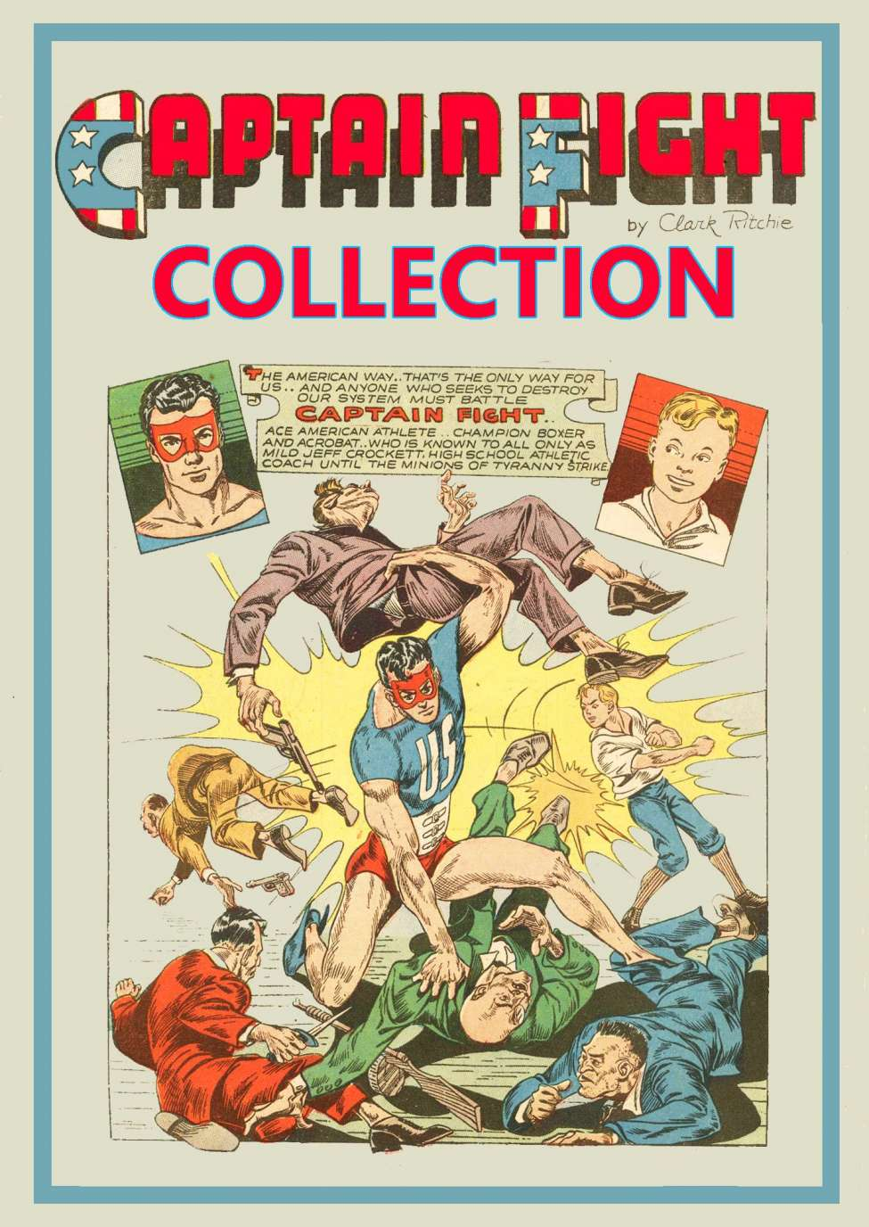 Comic Book Cover For Captain Fight Compilation