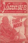 Cover For L'Agent IXE 13 v2 86 Le Tibet noir