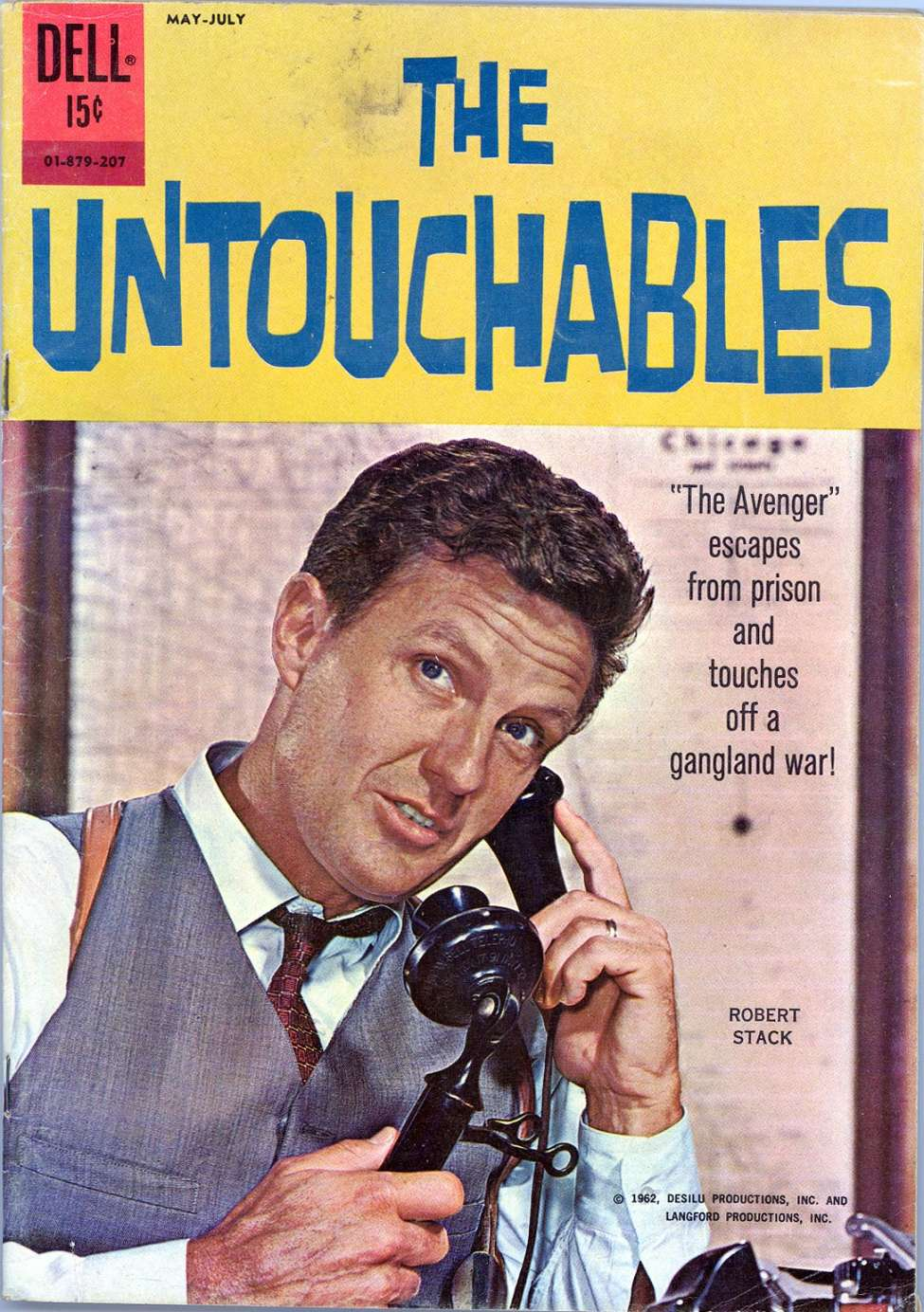Comic Book Cover For The Untouchables 01-879-207 [3]