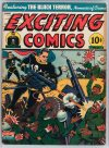 Cover For Exciting Comics 27