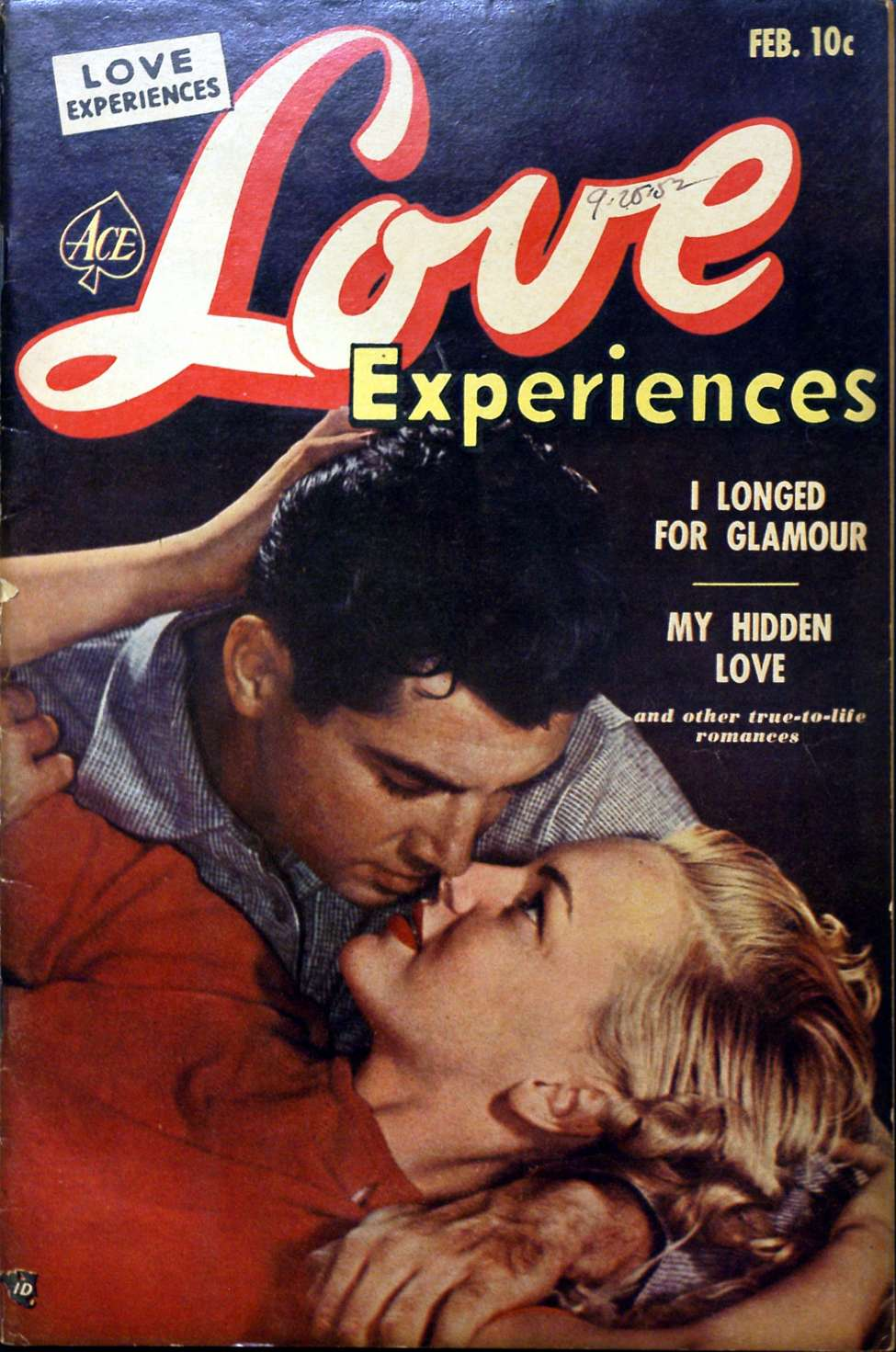 Comic Book Cover For Love Experiences #17