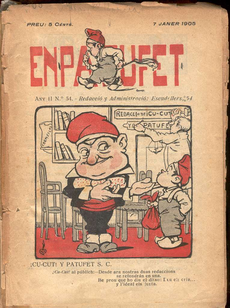 Comic Book Cover For En Patufet 0054
