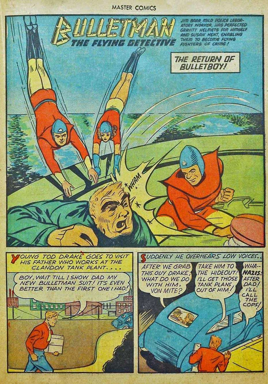 Comic Book Cover For Bulletman Archive Vol 11