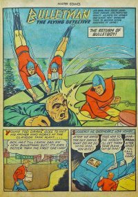 Large Thumbnail For Bulletman Archive Vol 11