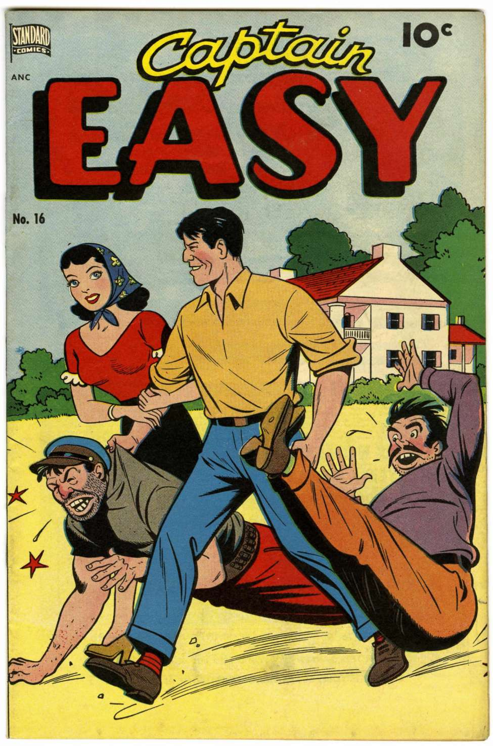 Simple Comic Book Covers : Captain easy better nedor standard pines