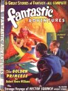Cover For Fantastic Adventures v2 7 The Golden Princess Robert Moore Williams