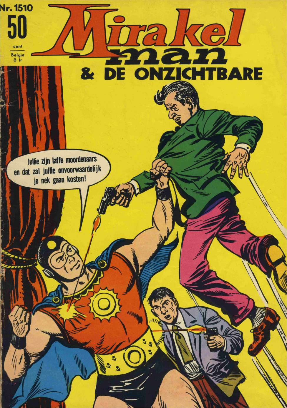 Comic Book Cover For Mirakelman #1510