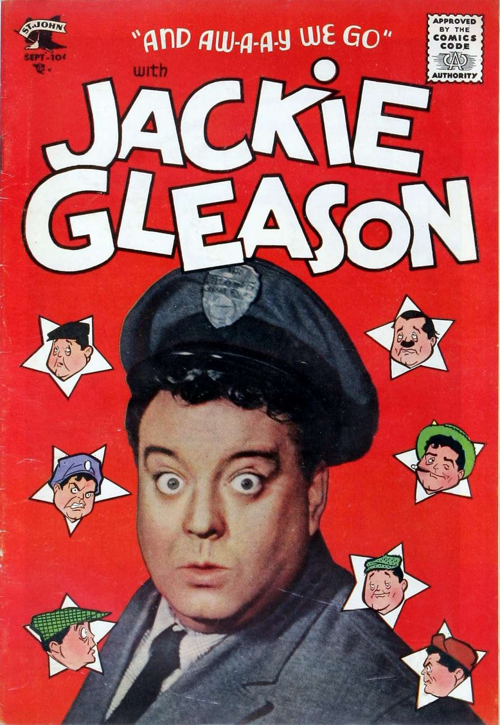 Comic Book Cover For Jackie Gleason #1