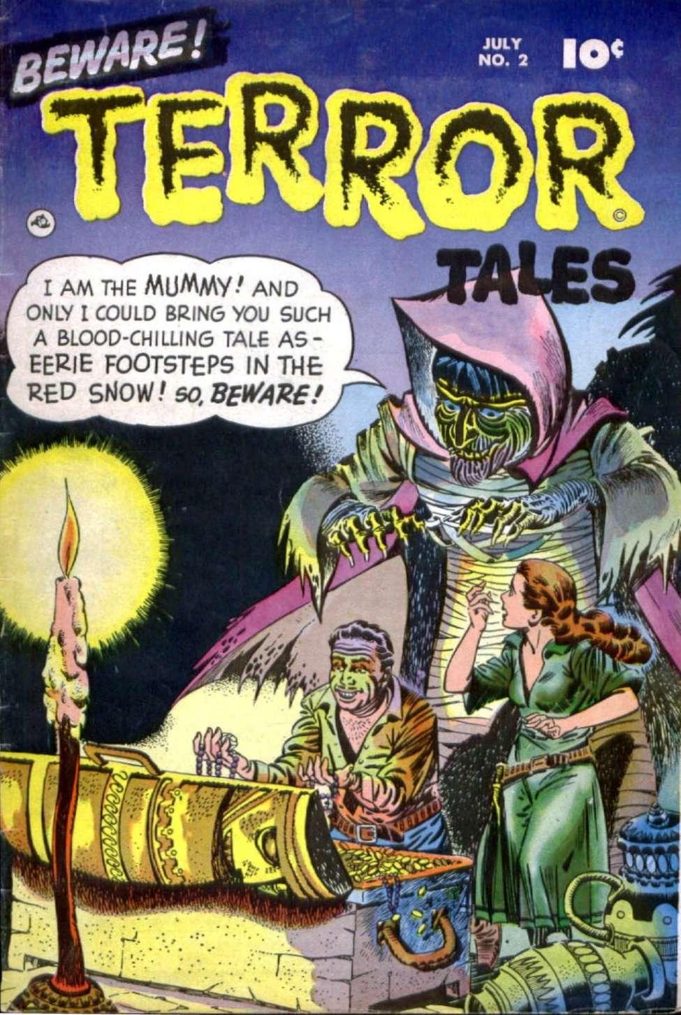 Comic Book Cover For Beware! Terror Tales #2