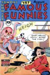 Cover For Famous Funnies 157