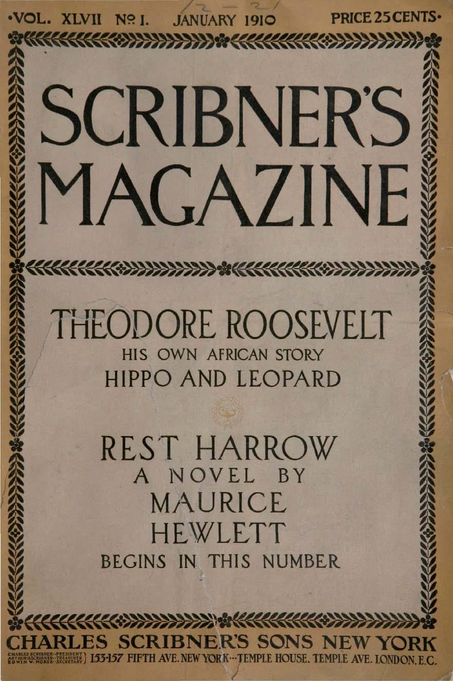 Comic Book Cover For Scribner's Magazine v47 01
