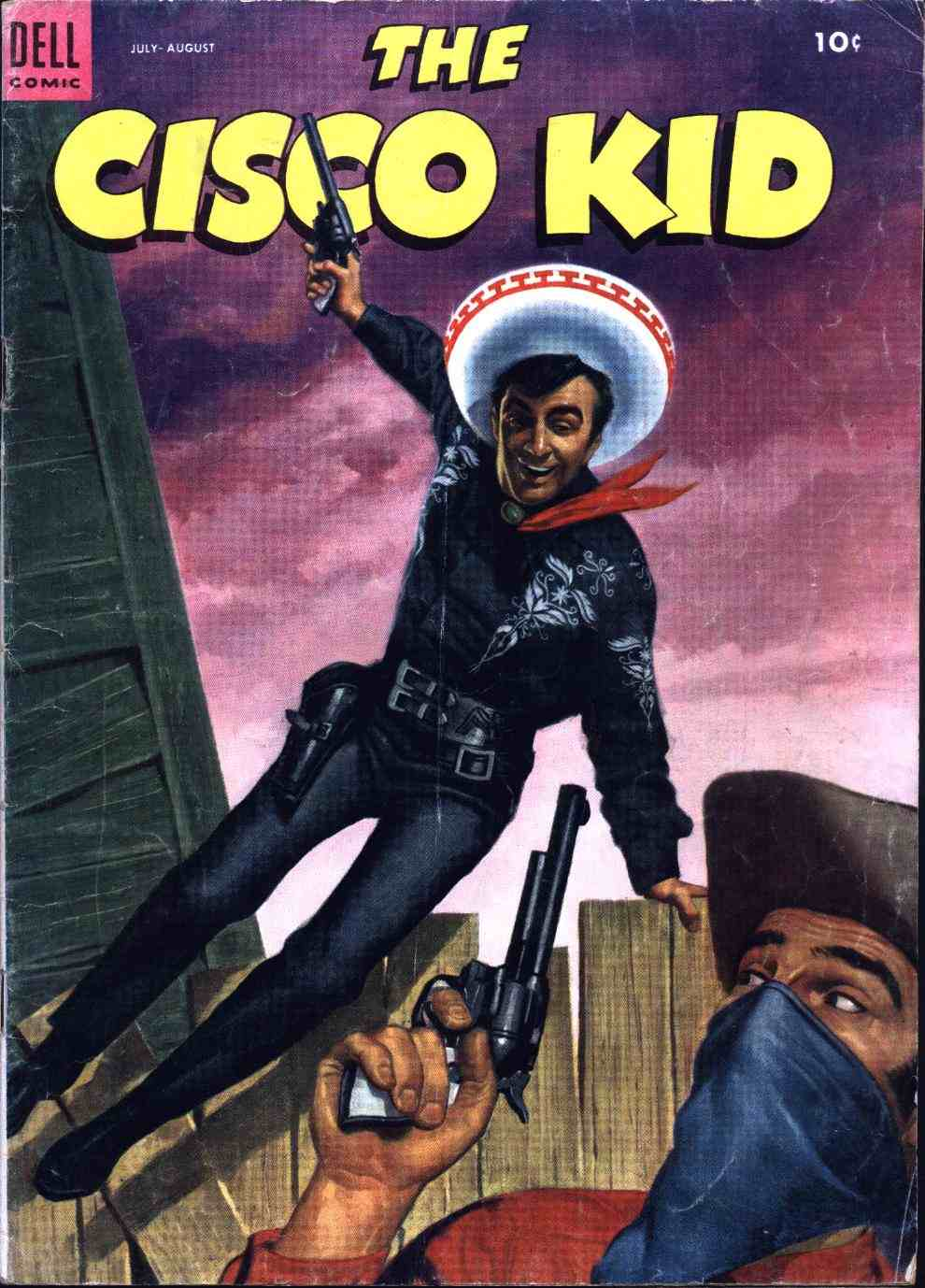 Comic Book Cover For The Cisco Kid 16