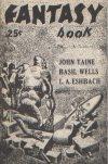 Cover For Fantasy Book v1 4 Black Goldfish John Taine