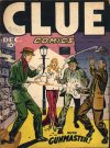 Cover For Clue Comics 11