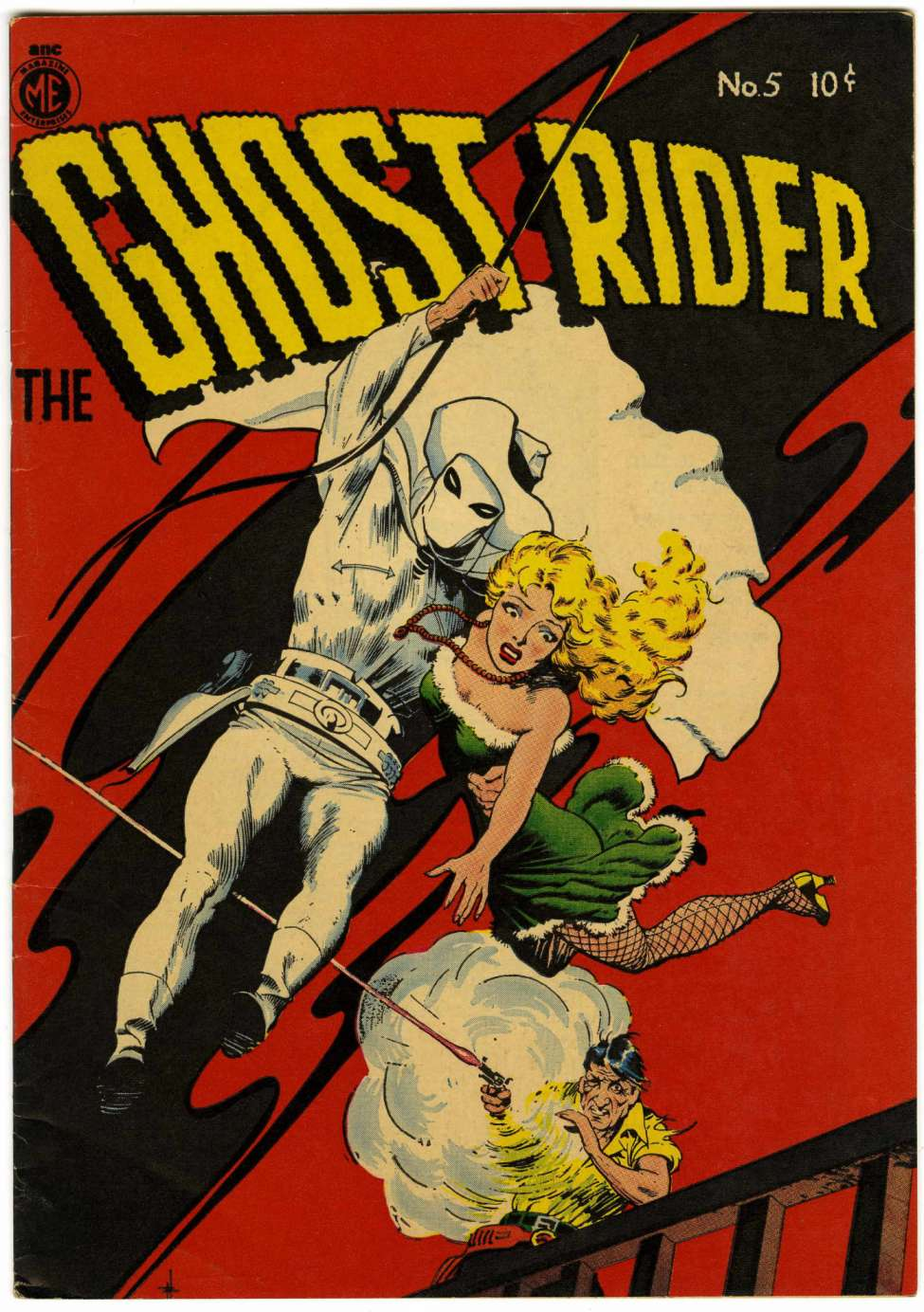 Comic Book Cover For The Ghost Rider 5 [A-1 #37]