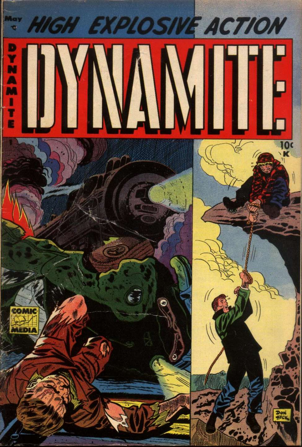 Comic Book Cover For Dynamite #1