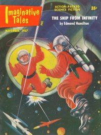 Large Thumbnail For Imaginative Tales v04 06 - The Ship from Infinity - Edmond Hamilton
