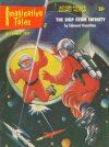 Cover For Imaginative Tales v4 6 The Ship from Infinity Edmond Hamilton