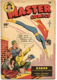 Large Thumbnail For Master Comics #58