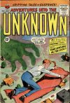 Cover For Adventures into the Unknown 134