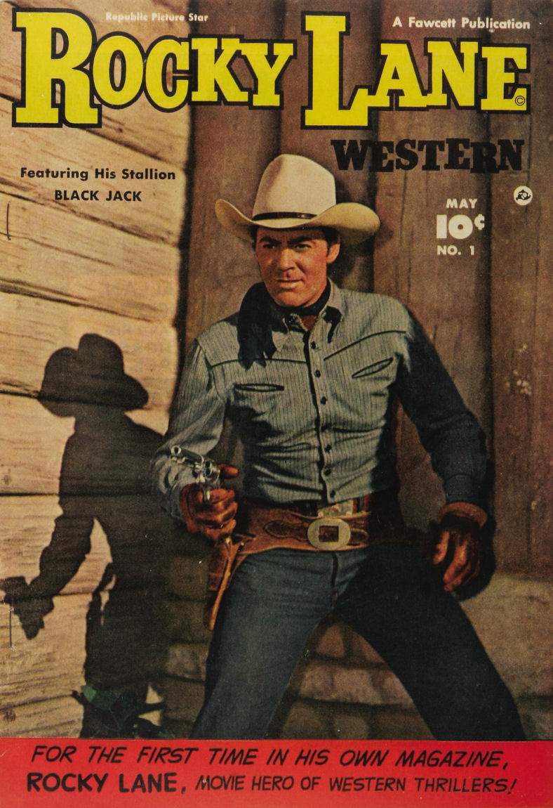 Comic Book Cover For Rocky Lane Western #1