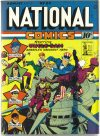 Cover For National Comics 24