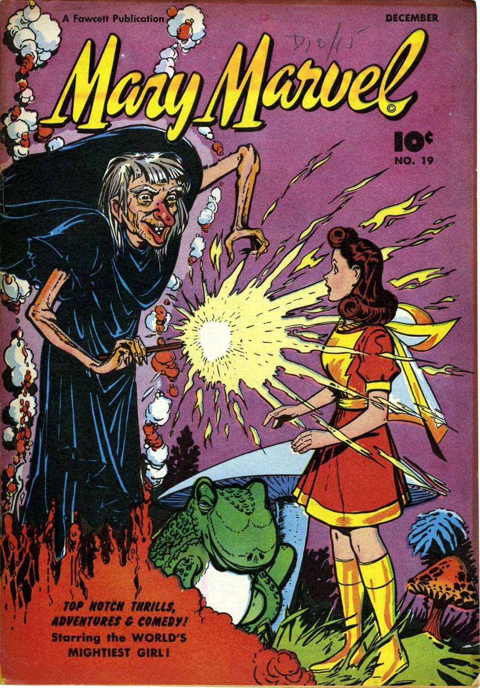 Comic Book Cover For Mary Marvel #19