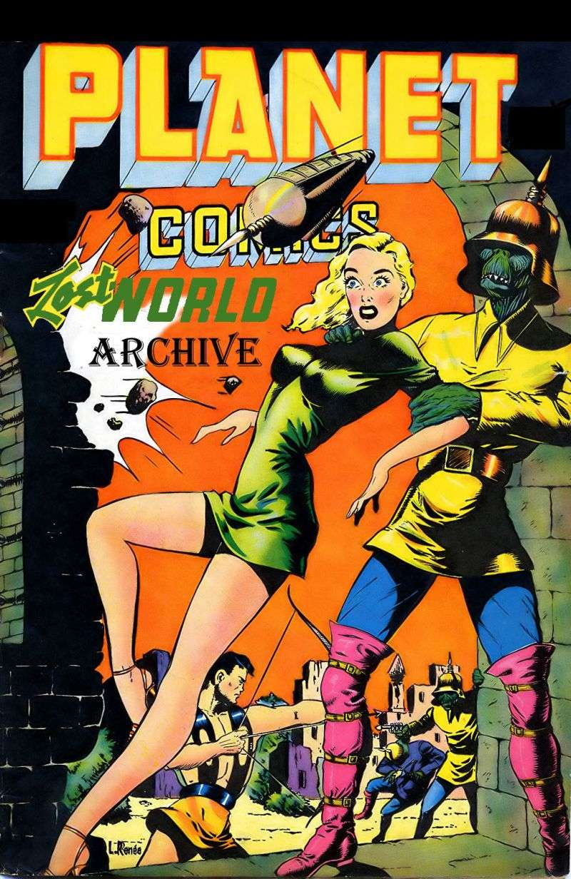 Comic Book Cover For Lost World Archive Pt.1 (21 45) r